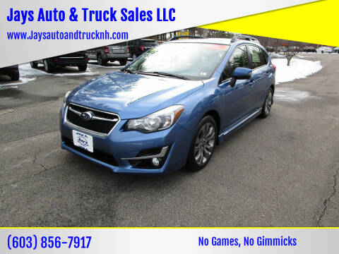 2016 Subaru Impreza for sale at Jays Auto & Truck Sales LLC in Loudon NH