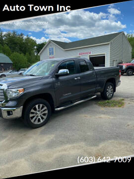 2015 Toyota Tundra for sale at Auto Town Inc in Brentwood NH
