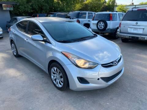 2012 Hyundai Elantra for sale at Cash Car Outlet in Mckinney TX