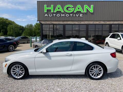 2016 BMW 2 Series for sale at Hagan Automotive in Chatham IL