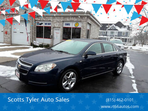 2008 Chevrolet Malibu for sale at Scotts Tyler Auto Sales in Wilmington IL