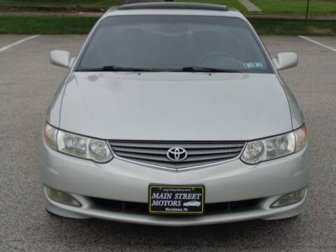 2003 Toyota Camry Solara for sale at MAIN STREET MOTORS in Norristown PA