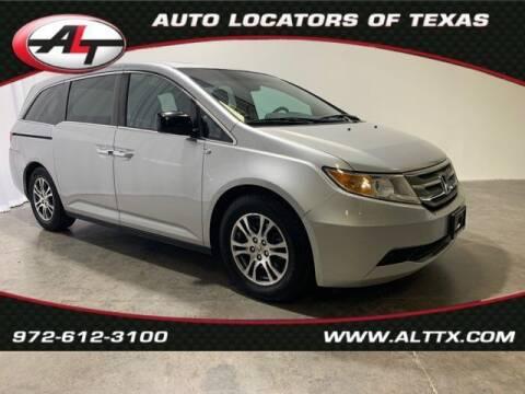 2012 Honda Odyssey for sale at AUTO LOCATORS OF TEXAS in Plano TX