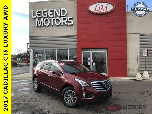 2017 Cadillac XT5 for sale at Legend Motors of Waterford - Legend Motors of Ferndale in Ferndale MI