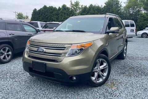 2013 Ford Explorer for sale at Mass Auto Exchange in Framingham MA