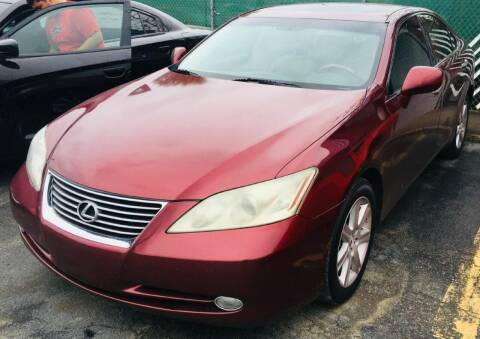 2007 Lexus ES 350 for sale at RD Motors, Inc in Charlotte NC