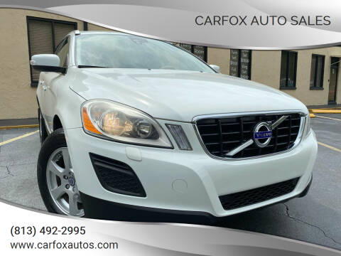 2011 Volvo XC60 for sale at Carfox Auto Sales in Tampa FL