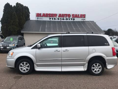 2012 Chrysler Town and Country for sale at BLAESER AUTO LLC in Chippewa Falls WI