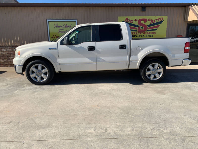 2008 Ford F-150 for sale at BIG 'S' AUTO & TRACTOR SALES in Blanchard OK