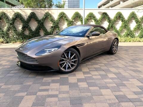 Aston Martin Db11 For Sale In Houston Tx Rogers Motorcars