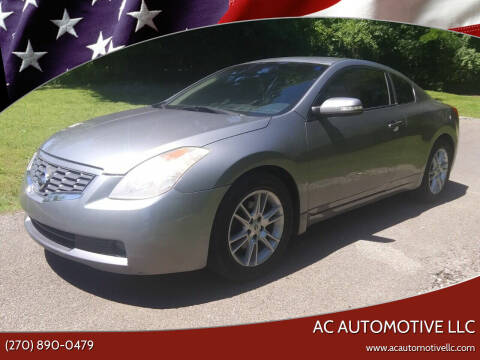 2008 Nissan Altima for sale at AC AUTOMOTIVE LLC in Hopkinsville KY