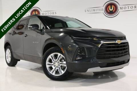 2019 Chevrolet Blazer for sale at Unlimited Motors in Fishers IN