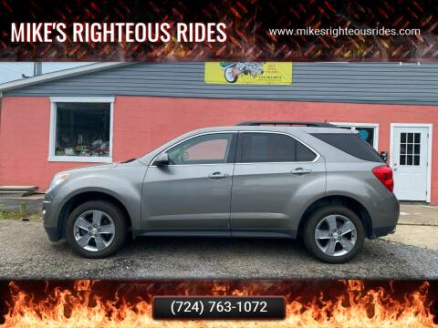 2012 Chevrolet Equinox for sale at Mike's Righteous Rides in Mc Grann PA