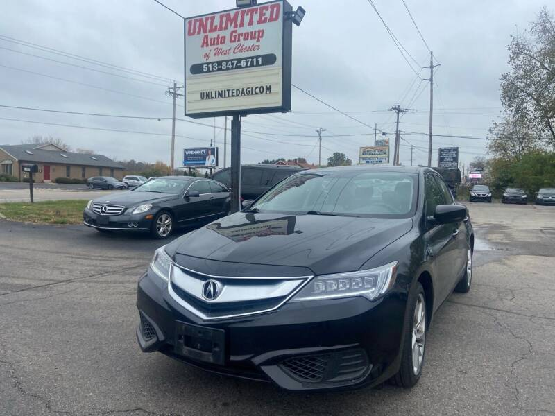 2017 Acura ILX for sale at Unlimited Auto Group in West Chester OH