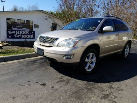 2007 Lexus RX 350 for sale at TR MOTORS in Gastonia NC