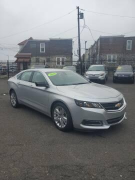 2016 Chevrolet Impala for sale at Key & V Auto Sales in Philadelphia PA