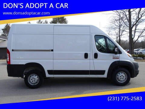2020 RAM ProMaster Cargo for sale at DON'S ADOPT A CAR in Cadillac MI