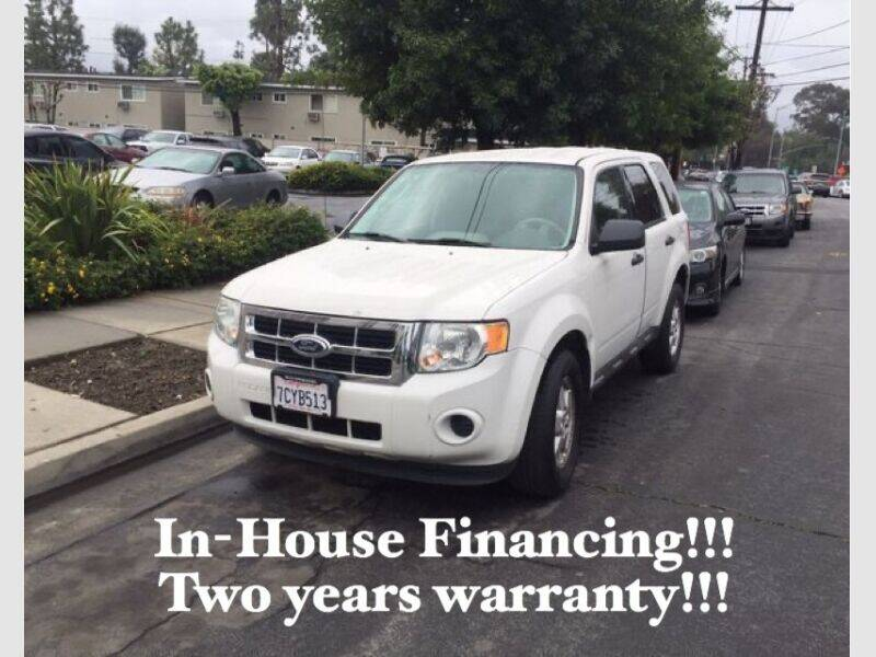 2012 Ford Escape for sale at Sidney Auto Sales in Downey CA