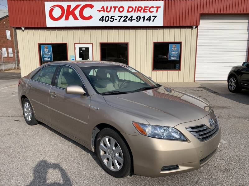 2007 Toyota Camry Hybrid for sale at OKC Auto Direct in Oklahoma City OK