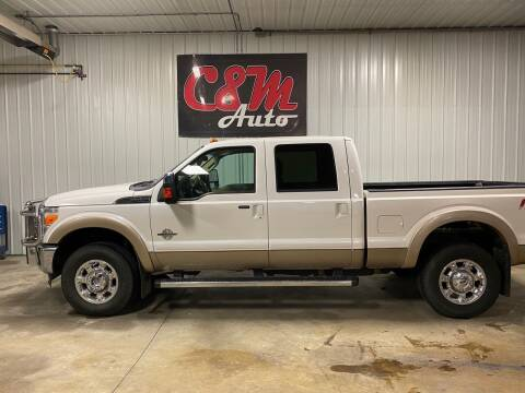2012 Ford F-350 Super Duty for sale at C&M Auto in Worthing SD