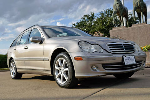 2005 Mercedes-Benz C-Class for sale at European Motor Cars LTD in Fort Worth TX