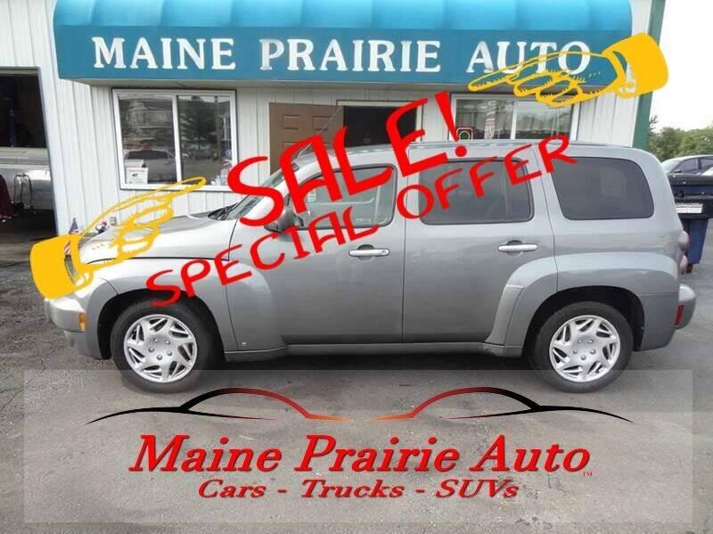 2006 Chevrolet HHR for sale at Maine Prairie Auto INC in Saint Cloud MN