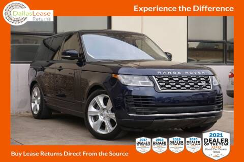 2018 Land Rover Range Rover for sale at Dallas Auto Finance in Dallas TX
