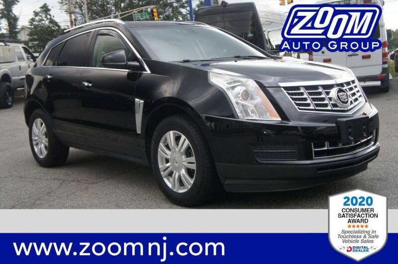 2014 Cadillac SRX for sale at Zoom Auto Group in Parsippany NJ