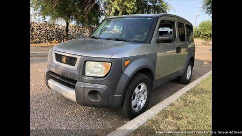 2003 Honda Element for sale at Noble Motors in Tucson AZ