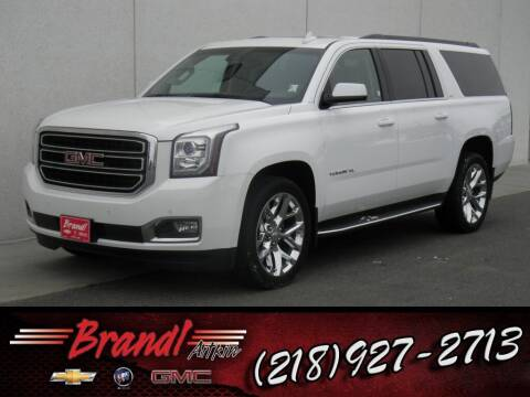 2016 GMC Yukon XL for sale at Brandl GM in Aitkin MN