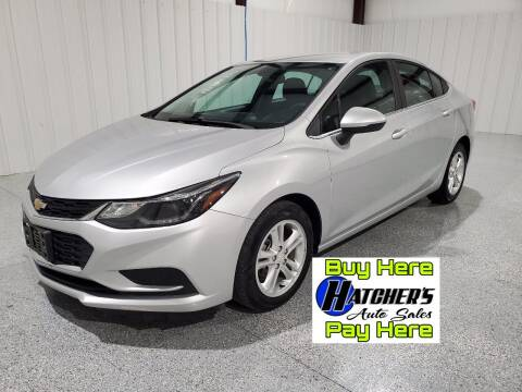 2017 Chevrolet Cruze for sale at Hatcher's Auto Sales, LLC - Buy Here Pay Here in Campbellsville KY