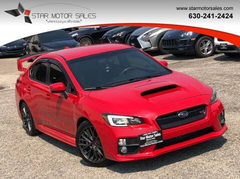 2016 Subaru WRX for sale at Star Motor Sales in Downers Grove IL