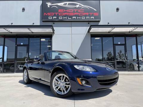 2012 Mazda MX-5 Miata for sale at Exotic Motorsports of Oklahoma in Edmond OK