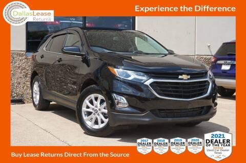 2020 Chevrolet Equinox for sale at Dallas Auto Finance in Dallas TX