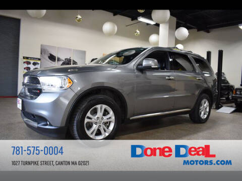 2013 Dodge Durango for sale at DONE DEAL MOTORS in Canton MA