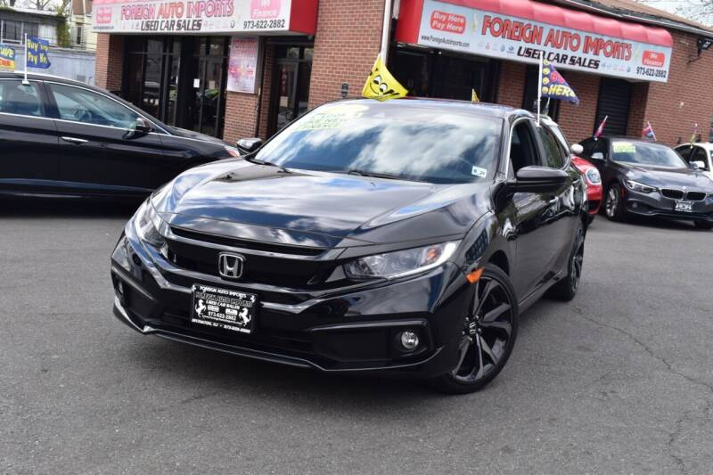 2019 Honda Civic for sale at Foreign Auto Imports in Irvington NJ