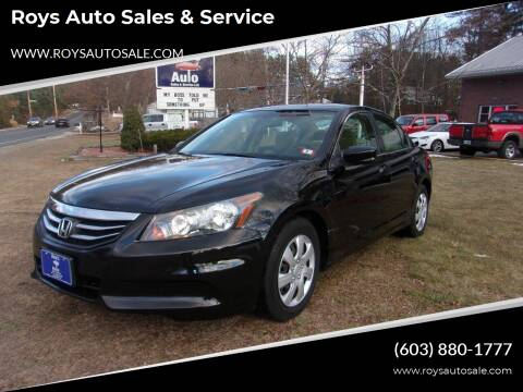 2011 Honda Accord for sale at Roys Auto Sales & Service in Hudson NH