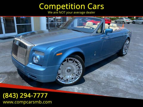 2009 Rolls-Royce Phantom Drophead Coupe for sale at Competition Cars in Myrtle Beach SC