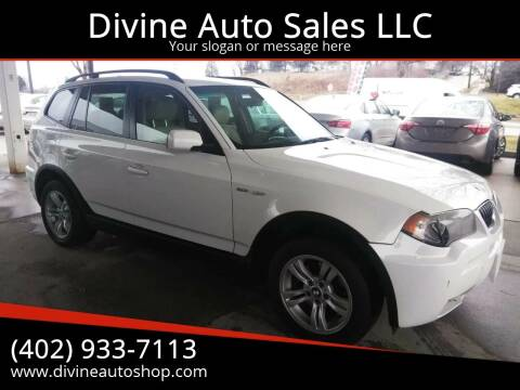 2006 BMW X3 for sale at Divine Auto Sales LLC in Omaha NE