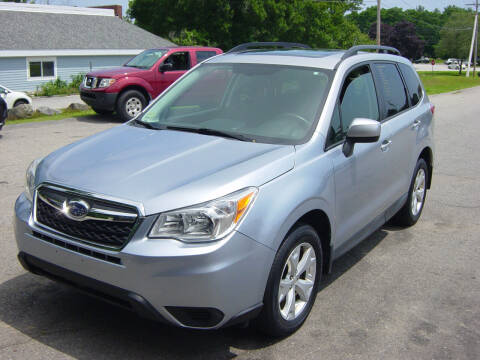 2015 Subaru Forester for sale at North South Motorcars in Seabrook NH
