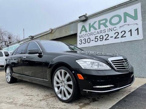 2013 Mercedes-Benz S-Class for sale at Akron Motorcars Inc. in Akron OH