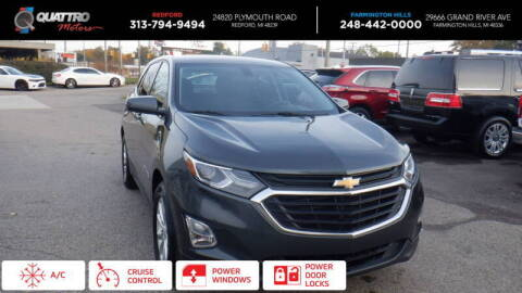 2018 Chevrolet Equinox for sale at Quattro Motors 2 - 1 in Redford MI