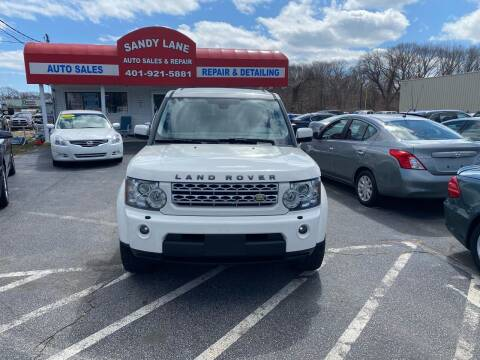 2010 Land Rover LR4 for sale at Sandy Lane Auto Sales and Repair in Warwick RI