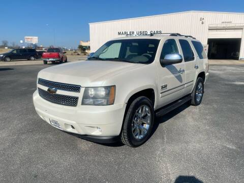 2009 Chevrolet Tahoe for sale at MARLER USED CARS in Gainesville TX