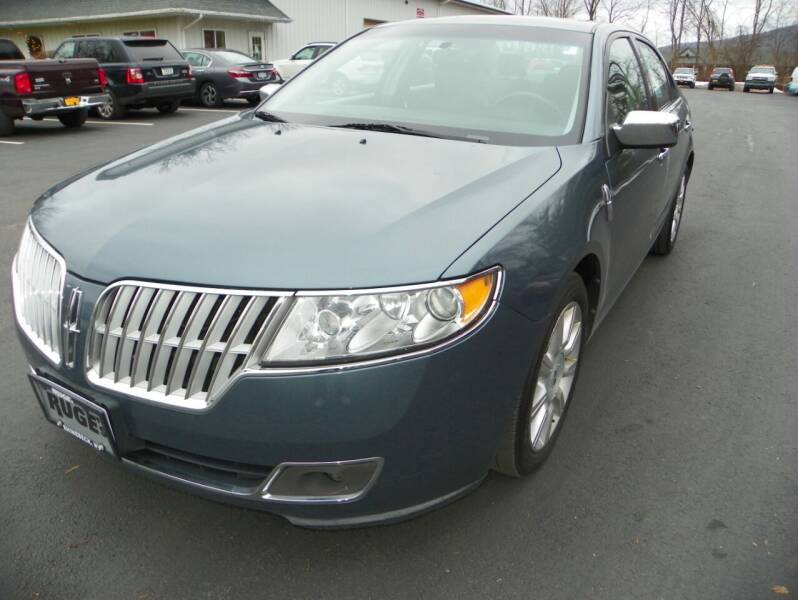 2012 Lincoln MKZ for sale at Ed Davis LTD in Poughquag NY