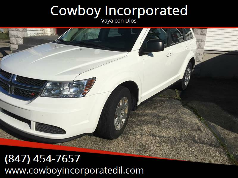 2012 Dodge Journey for sale at Cowboy Incorporated in Waukegan IL