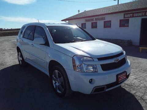 2008 Chevrolet Equinox for sale at Sarpy County Motors in Springfield NE