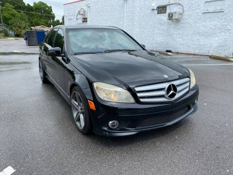 2010 Mercedes-Benz C-Class for sale at Consumer Auto Credit in Tampa FL