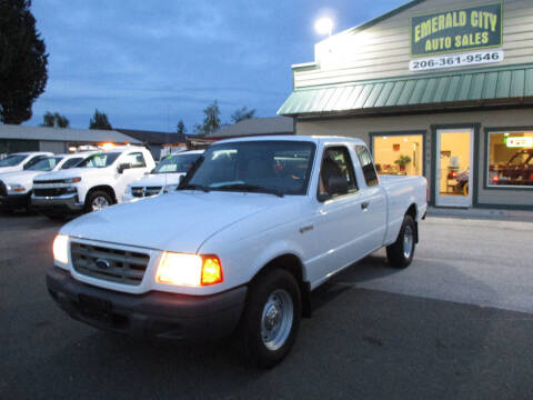2001 Ford Ranger for sale at Emerald City Auto Inc in Seattle WA