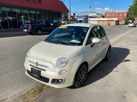2012 FIAT 500 for sale at Midtown Autoworld LLC in Herkimer NY
